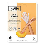 IROHA Repairing Peach Hand Treatment Mask Gloves