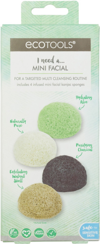 Image result for EcoTools Multi Cleansing Mini Facial Kit