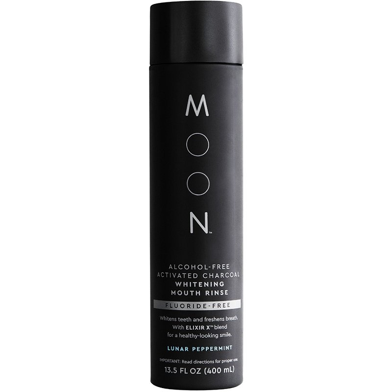 Moon Fluoride Free Activated Charcoal Whitening Mouth Rinse Ulta