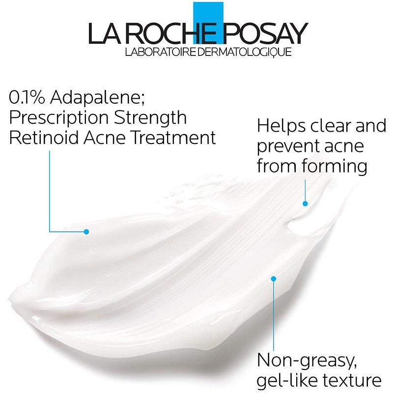 La Roche Posay Effaclar Adapalene Gel 0 1 Topical Retinoid Acne