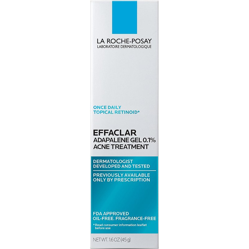 La Roche Posay Effaclar Adapalene Gel 0 1 Topical Retinoid Acne