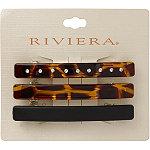 Riviera Mixed Gem Barrettes