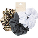 Riviera Snake Print And Jersey Scrunchies
