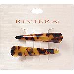 Riviera Mini Tortoise Salon Clips