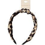 Riviera Knot Top Leopard Headband
