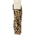 Riviera Leopard Jersey Twist Headwrap