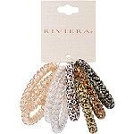 Riviera Mini Animal Print Coils