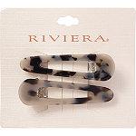 Riviera Acetate/Metal Salon Clips