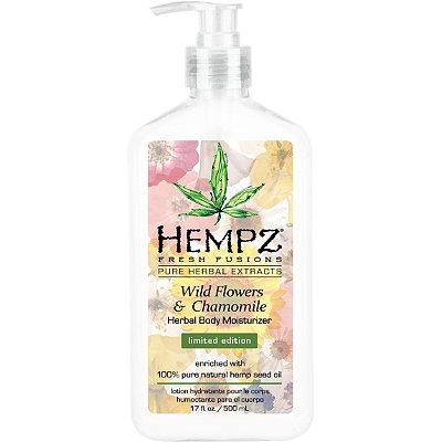 Fresh Fusions Wild Flowers & Chamomile Herbal Body Moisturizer