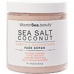 VitaminSea.beauty Sea Salt Coconut Gentle & Brightening Face Scrub