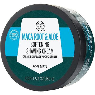 Online Only Maca Root & Aloe Softening Shaving Cream For Men