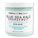 VitaminSea.beauty Blue Sea Kale Grapefruit Deep Pore Exfoliating Face Mask