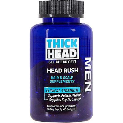 Online Only Head Rush Hair & Scalp Supplements