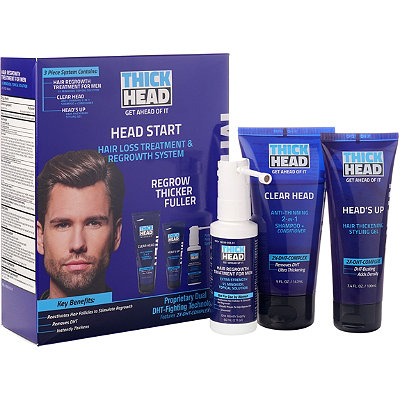 Online Only Head Start Hair Loss Treatment & Regrowth System