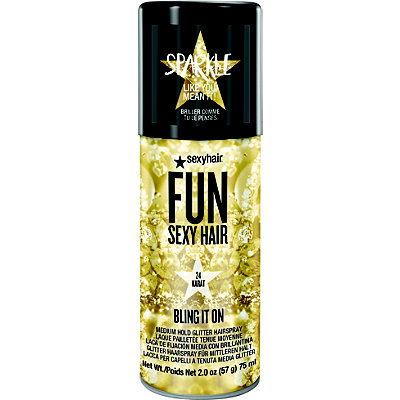24 Karat Bling It On Medium Hold Glitter Hairspray