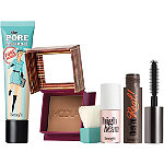 Benefit Cosmetics Prime To Glow! Primer, Bronzer, Mascara & Highlighter Set