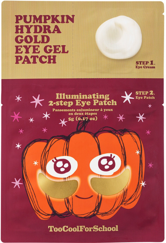 Pumpkin Hydra Gold Eye Gel Patch by Too Cool For School
