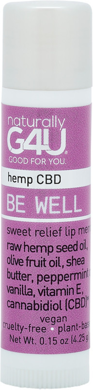 Be Well Cbd Sweet Relief Lip Mend by Naturally G4 U