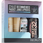 Redken Diamond and Platinum Exclusive! FREE 4 Pc Redken Gift with any online purchase