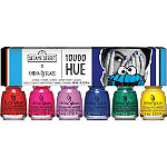 China Glaze Online Only Sesame Street You Do Hue 6 Piece Mini Kit