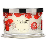 HomeWorx Trim The Tree 4 Wick Candle
