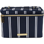 Tartan + Twine Striped Deluxe Train Case