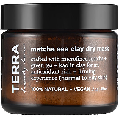 Matcha Sea Clay Dry Mask