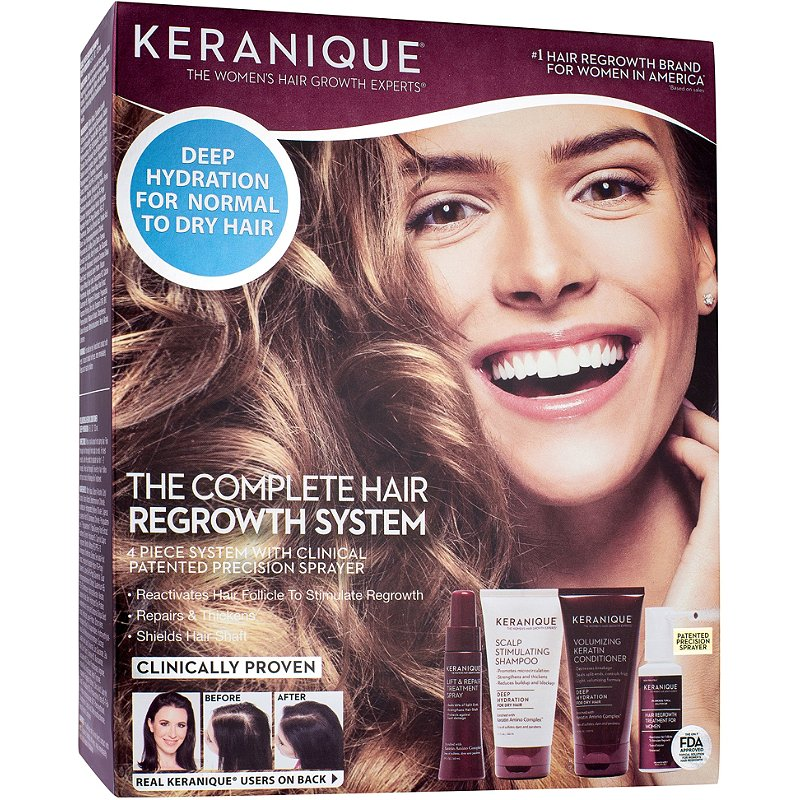 Keranique The Complete Hair Regrowth System For Deep Hydration Ulta Beauty