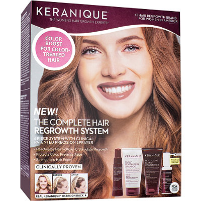 The Complete Hair Regrowth System Color Boost
