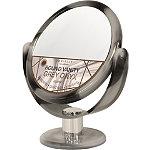 Danielle Grey Marble Vanity Mirror