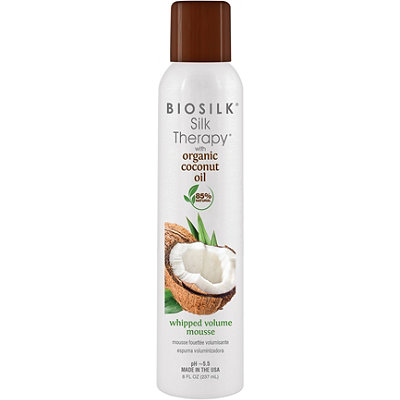 Silk Therapy With Organic Coconut Oil Whipped Volume Mousse