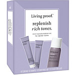 Living Proof Replenish Rich Tones Mini Transformation Kit For Darker Tones