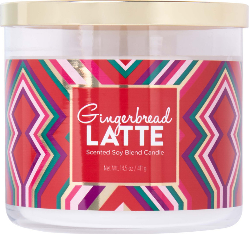 Gingerbread Latte Scented Soy Blend Candle by Ulta