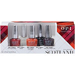OPI Scotland Good Girls Gone Plaid Infinite Shine 5pc Mini Pack