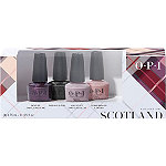 OPI Scotland Good Girls Gone Plaid Nail Lacquer Mini 4-Pack