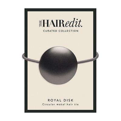 Gunmetal Royal Disk Hair Tie