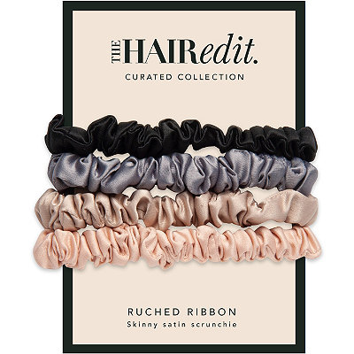 Ruched Satin Scrunchies