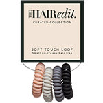 The Hair Edit Matte Soft-Touch Hair Ties