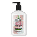 Hempz Fresh Fusions Oriental Poppies & Blue Agave CBD Herbal Body Moisturizer