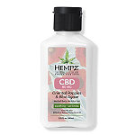 Hempz Travel Size Fresh Fusions Oriental Poppies + Blue Agave Herbal Body Moisturizer