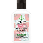 Hempz Travel Size Fresh Fusions Oriental Poppies + Blue Agave CBD Herbal Body Moisturizer