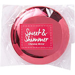 Sweet & Shimmer Chrome Compact Mirror