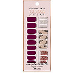 Dashing Diva Bordeaux Beauty Gloss Ultra Shine Gel Strips