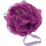 Sweet & Shimmer Purple Shower Pouf