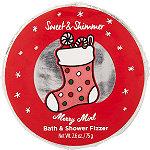 Sweet & Shimmer Merry Mint Bath Fizzer Disk