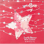 Sweet & Shimmer Sparking Rose Bath Confetti