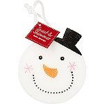 Sweet & Shimmer Snowman Bath Sponge