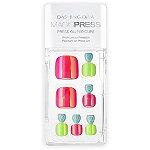 Dashing Diva Magic Press Neon Glow Press On Pedicure Nails