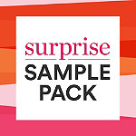 Online Only FREE Surprise Sample Pack with select cosmetics, skin care, sun care, or hair purchase