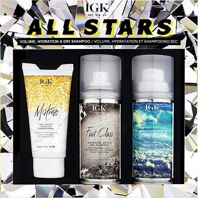 All Stars Volume, Hydration And Dry Shampoo Kit
